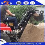 Escavatore a cucchiaia rovescia trainabile di scavatura del collegamento del trattore della macchina con il funzionamento flessibile