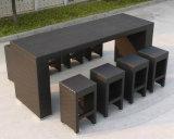 Tabella e feci della mobilia della barra del rattan per mobilia esterna