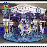 12 passeios do Merry-Go-Round do parque de diversões do carrossel do cavalo da fantasia dos assentos