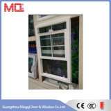 Doppeltes hing Fenster. Amerikanischer Art Belüftung-Fenster-Entwurf