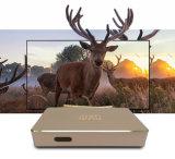 Androider DVB-S2/T2/C/ISDB-T Fernsehapparat-Kasten Q1 mit kundenspezifischem APP-Markt