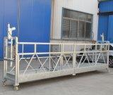 Gondole en acier de construction de maintenance de construction d'enduit de la poudre Zlp500