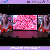 Pared video a todo color de alquiler de interior de P4.81 LED para hacer publicidad (CE, RoHS, FCC, CCC)