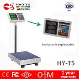 Máquina de pesaje industrial de la escala del precio de Digitaces