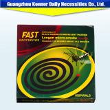 Produit répulsif de fabrication de bobine de moustique de l'allethrin D-Transport et inoffensif