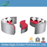 Combinación Sofá sofá de mimbre muebles de ratán