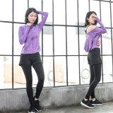 Ghette Yogawear delle calzamaglia di Spandx di ginnastica di allenamento di aumento di Activewear delle donne alte