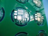 Alto Silkscreen blanco de múltiples capas del PWB 6layer del Tg con oro de la inmersión