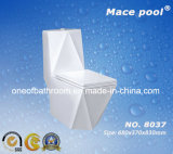 목욕탕 (8037)에 있는 다른 디자인 한 조각 결박 Siphonic 세라믹 화장실