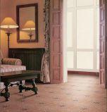 Mattonelle di pavimento di ceramica interrotte moquette del Home Depot Lowes
