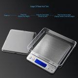 escala eletrônica da cozinha de 500g X de 0.01g LCD Digital