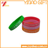 Logo doux de Wrisband Customed de silicones de mode (YB-HD-189)