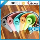 Custom Dual Layer, esteira de ioga de PVC com alça de transporte