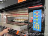 Luxueux boulangerie électrique pont en acier inoxydable four avec bac 6