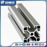 Perfil industrial de alumínio para linha de montagem Matt Silver Color Electrophoresis