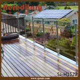 Barandilla de cristal del acero inoxidable para la cubierta/el balcón (SJ-H1522)