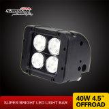 """일 LED 빛 4.5 """" 40W Offroad 높은 LED 표시등 막대"""