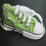 Anillo dominante de encargo, zapatillas de deporte Keychain para el regalo de los cabritos