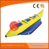Раздувная езда шлюпки пробки банана игрушки занятности воды (T12-402)