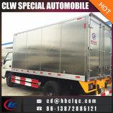 Vrachtwagen van het Vervoer van het Roomijs van de Vrachtwagen van de Doos van Jmc 4mt de Gekoelde