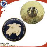 Pin de la solapa de la divisa del metal de la aduana Hola-q