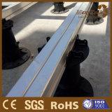 Angehobener Fußboden-justierbarer Plastikuntersatz für WPC Decking