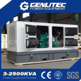 gerador Diesel industrial removível Water-Cooled da central energética de 150kw 188kVA
