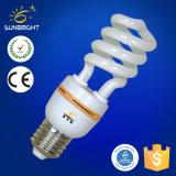 lampadine economizzarici d'energia a spirale mezze di 15W T4