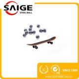 Esfera de aço de cromo de AISI52100 1.588mm-32mm para patins