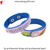 Kundenspezifisches Silikon-Armband für Förderung-Geschenke (YH-PB003)
