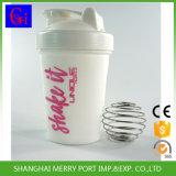 400ml 14 Unze-feste weiße Farben-Protein-Schüttel-Apparatflasche (SG007S)