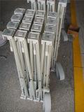 Легкая собранная складчатость хлопает вверх стойка индикации, алюминиевая весна хлопает вверх стена фона