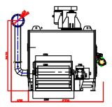 Machine de calcination et de refroidissement de catalyseur de nid d'abeilles