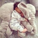 아기 아이들 코끼리 견면 벨벳 베개