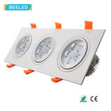 正方形15Wの自然な白LEDの天井ランプDimmable LED Downlight