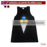 Il regalo del partito scherza i vestiti del bambino degli accessori del bambino del fronte superiore del serbatoio (P1027)