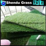 14700tuft grama do Synthetic da densidade 20mm para o jardim