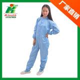 帯電防止服装の衣服、クリーンルームESDの仕事着