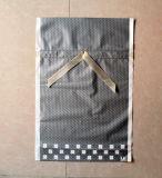 Sacchetti di plastica su ordinazione dei regali del Drawstring di natale