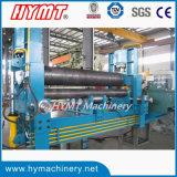 W11S-20X3200 machine à cintrer de l'universel trois de rouleaux de feuille de roulement hydraulique de plaque