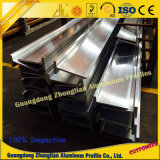 ISO perfil de aluminio industrial de la ranura de la barra T de 9001 T para el edificio