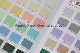 매트 광택 색깔 칩 견본의 다른 모양