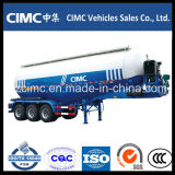 Cimc 세 배 차축 50cbm 대량 시멘트 탱크 트레일러