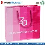 Papel cosméticos Bolsas / bolsas de papel hecho a mano para el embalaje