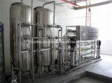 Industrieller Edelstahl-graues Wasserbehandlung-System