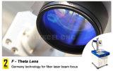Precio barato de la máquina del metal/del no metal de la marca del laser de la fibra 30W