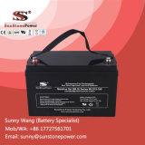 batería sin necesidad de mantenimiento del ciclo de 12V 100ah de la batería solar del gel profundo VRLA del AGM