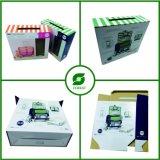 Het Vakje van de Koffer van het Karton van het Document van de Groothandelsprijs met Handvat