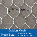 Cestini rivestiti eccellenti del PVC Gabion di resistenza della corrosione
