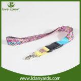 Lanière faite sur commande de courroie de collet de polyester pour le fournisseur d'événement